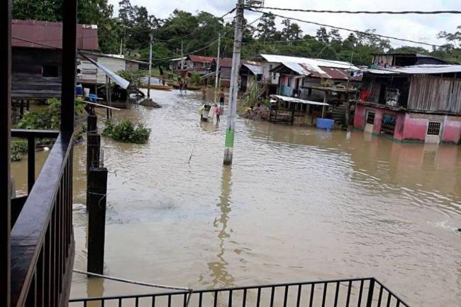 Más de 3 mil personas están afectadas por inundaciones en Nariño