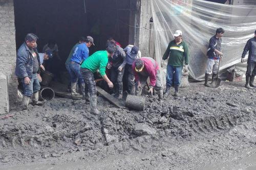 Indeci recomienda medidas de preparación ante alerta roja por lluvias en Puno