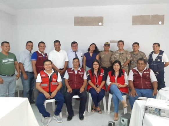 Realizan primera mesa temática sectorial para mitigar riesgos de desastres por inundaciones
